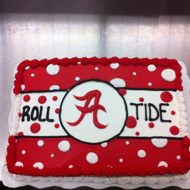 Alabama cake with Kaari & Niki on it....ROLL TIDE!!!