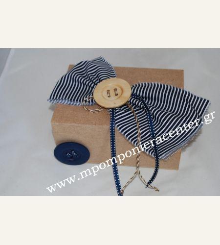 Κουτί μαρτυρικών χειροποίητο με υφασμα