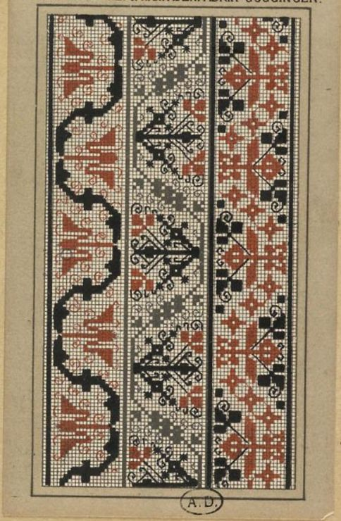Gallery.ru / Фото #77 - старинные ковры и схемы для вышивки - SvetlanN