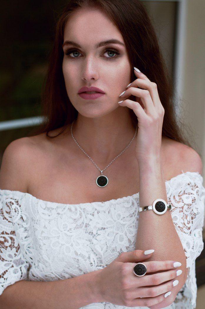 Aleksandra Puchacz Jewellery look book for ss16, Photo by Ala Lunecka, Model Paula Bartosiak