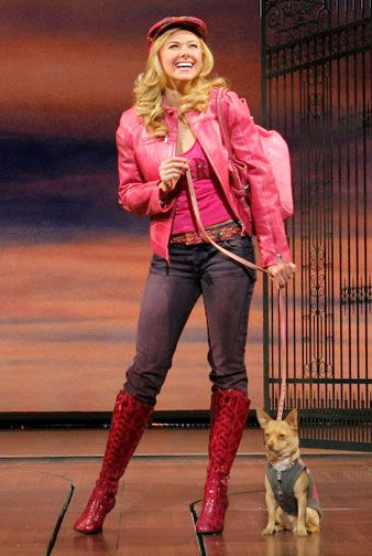 Elle Woods in Legally Blonde the #Musical - #Theatre
