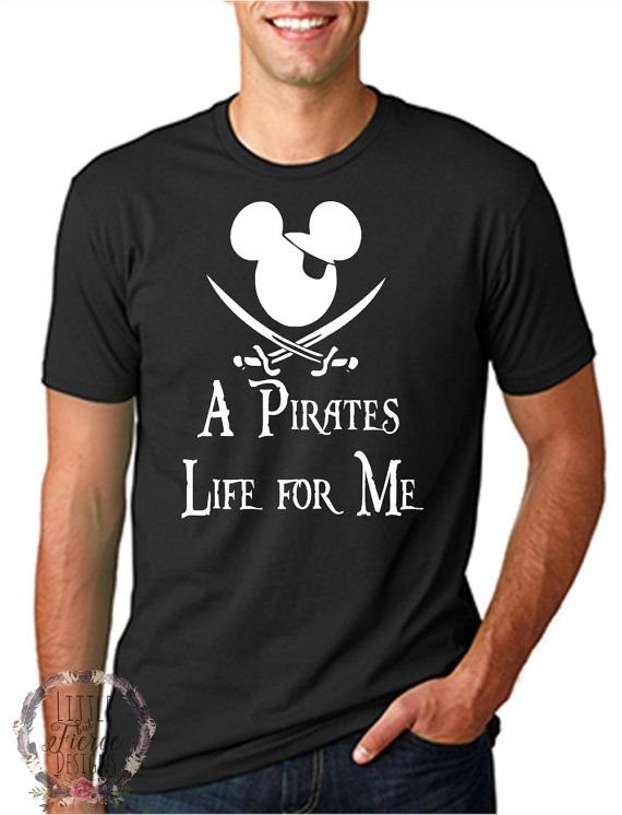 Check out this item in my Etsy shop https://www.etsy.com/listing/291577587/disney-shirts-pirates-life-for-me-disney