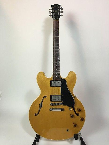 Gibson ES 335 1981 Blonde | Reverb