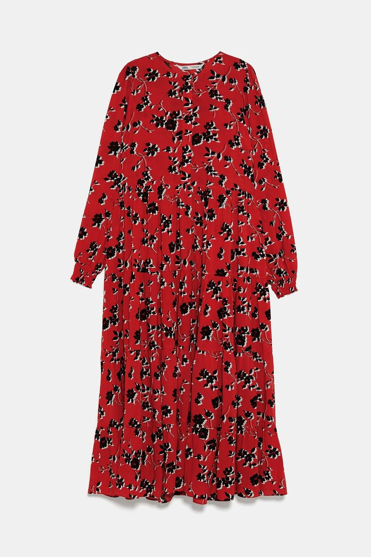 image 8 of floral print dress from zara