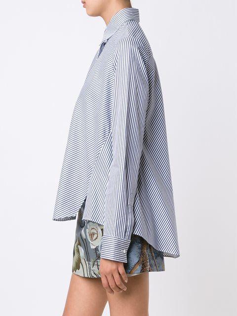 Adam Lippes рубашка в полоску