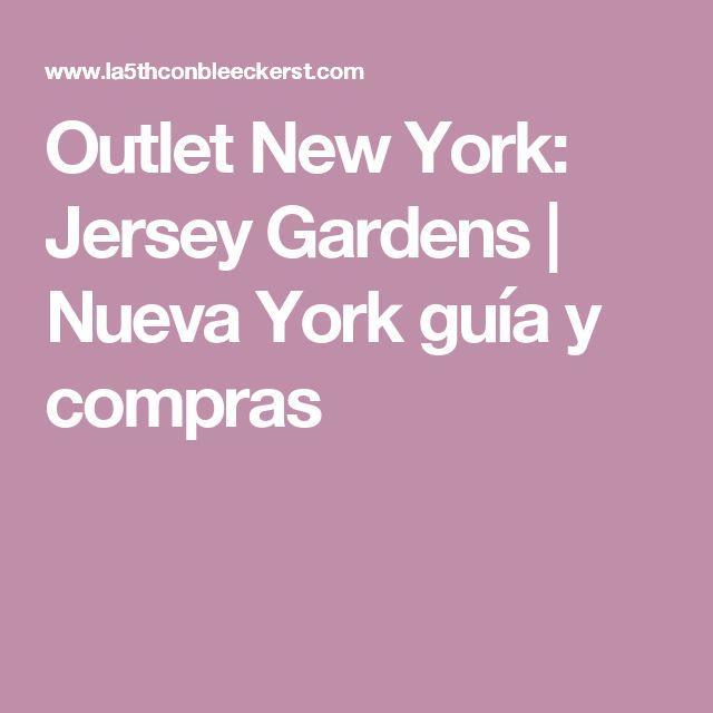 Outlet New York: Jersey Gardens   Nueva York guía y compras