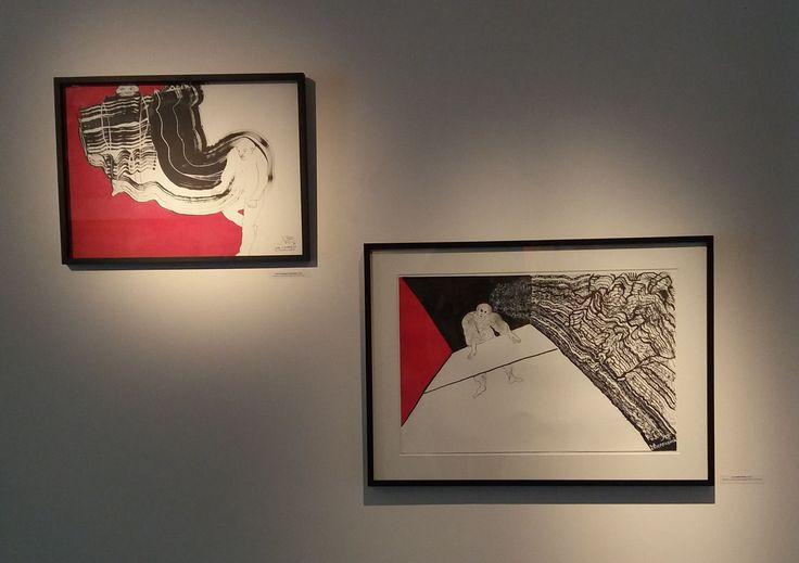 Obra de Luis Felipe Noé en la exposición TRES VECES NOÉ, en Galería Rubbers Internacional