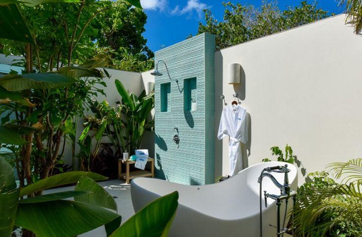 Limitele între design-ul interior şi exterior sunt neclare în hotelurile de lux din Caraibe proiectate de către International Design Concepts.