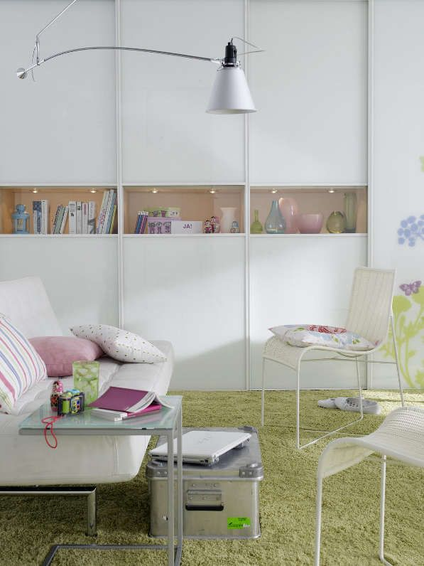 Großartige Ideen für eine kleine Wohnung - Bsp1-Sitzecke http://wohnidee.wunderweib.de/dekoundgastlichkeit/artikel-954219-dekoundgastlichkeit/Eine-kleine-Wohnung-zeigt-Groesse.html