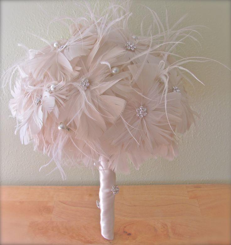 un bouquet di piume... troppo chic!