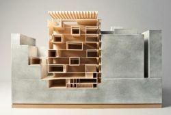 "by Rene Meyr ""Fondacione Jodice 2""   Architecture School, Vienna University of Technology - TU Wien - Austria   March 2013"