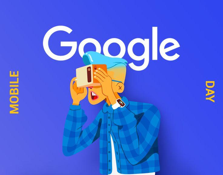 """Titta på det här @Behance-projektet: """"Google Mobile Day"""" https://www.behance.net/gallery/45109287/Google-Mobile-Day"""