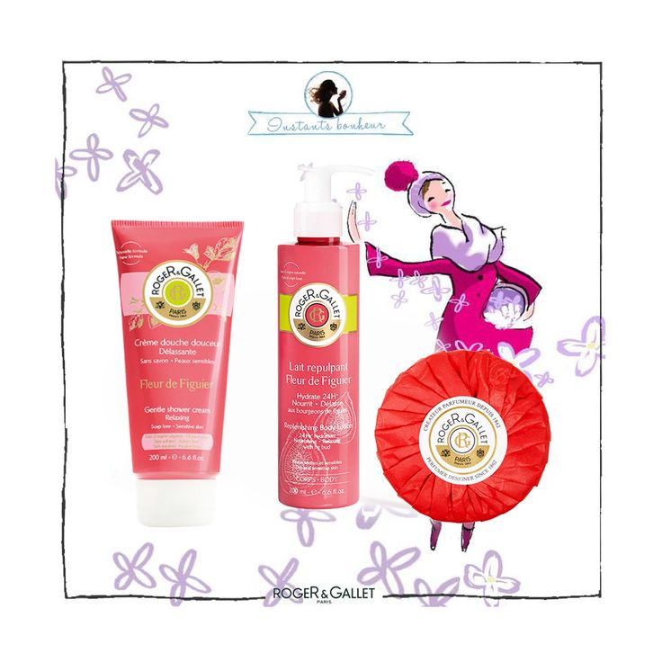 Christmas gift idea with Roger and Gallet fig collection