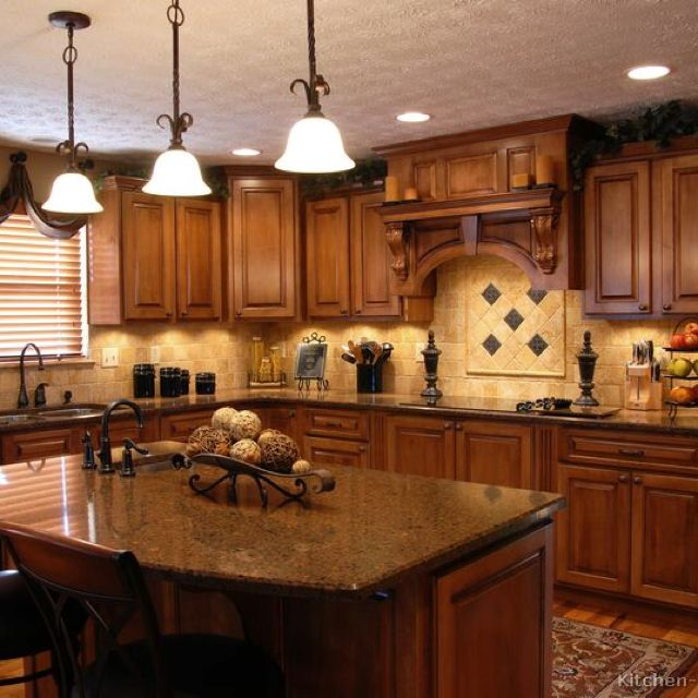 in my lifetime i'd love to have a kitchen that looks like this....Tuscany Kitchen Idea