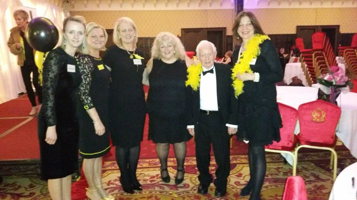 Dad (90) looking very smart at the North West Simon Community Ladies' Lunch! #CatAmongThePigeons