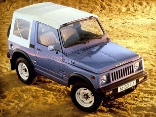 Suzuki SJ 410 Cabrio (1982 – 1985).