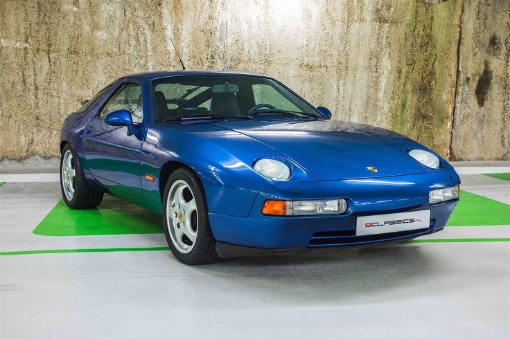 Porsche 928 GTS, 1992, Kobalt Blau met. ( L37U ) & Kobalt Leder ( TK ), Drapiert ( 980 & 935 ), Manual, 1 of 2831.