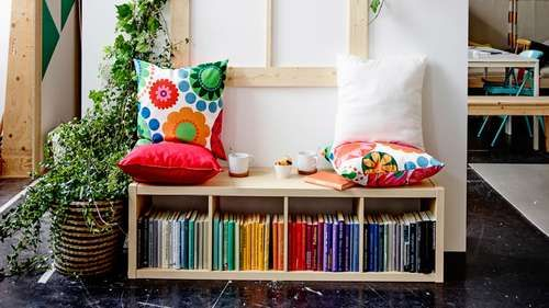 Siège-bibliothèque Ikea