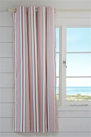 Buy Nautical Print Eyelet Curtains from the Next UK online shop