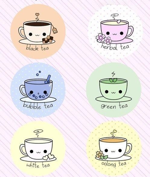 Чай милые картинки