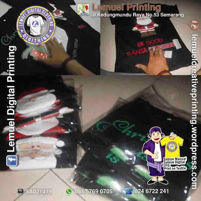 Custom Sablon Kaos Satuan Printable PU Heat Transfer Berkualitas By DIGITHING