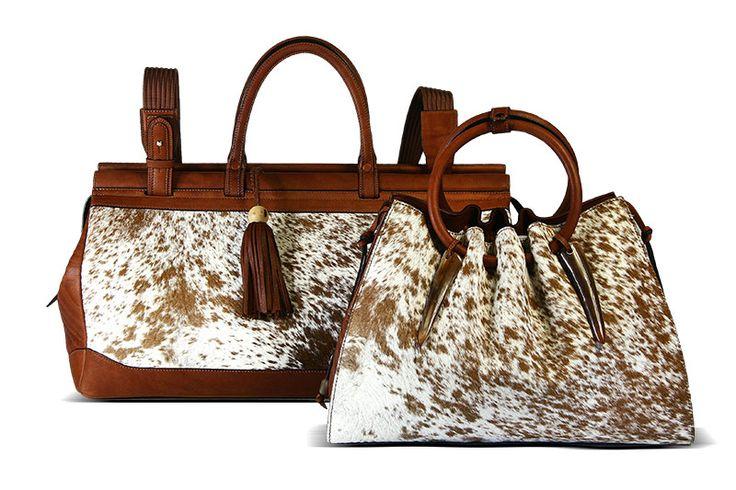 genuine african NGUNI handbags . part of the untamed range