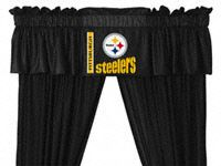 Pittsburgh Steelers Valance