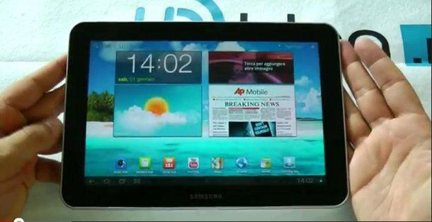 Video recensione del tablet Samsung Galaxy Tab 8.9 by HDBlog