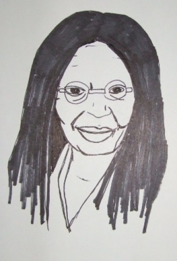 whoopi goldberg coloring pages - photo#4