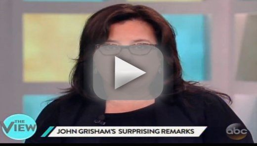 Rosie O'Donnell Wonders: Might John Grisham Be Into Child Porn?