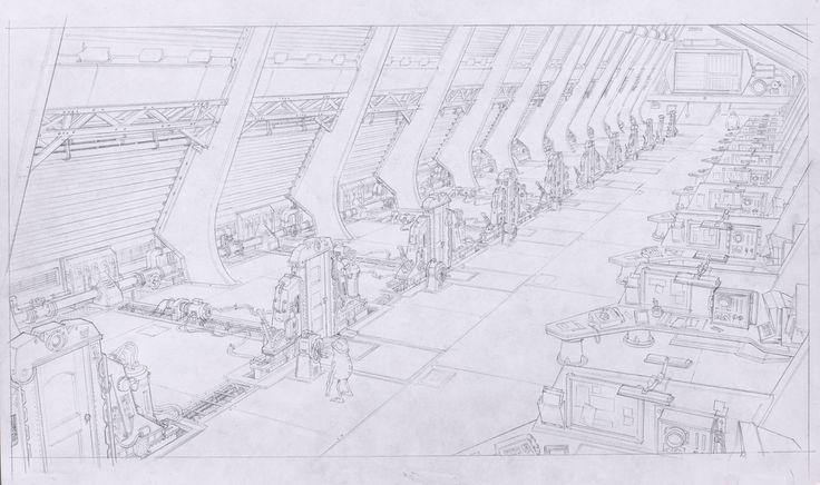 Concept Art, Monsters, Inc., Monsters University, 2013