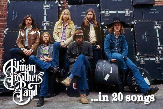 オールマン・ブラザーズ・バンドの20曲
