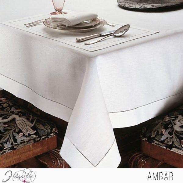 Mantel Ámbar  El elegante mantel ambar es una buena opción para la mesa de tu comedor. ...