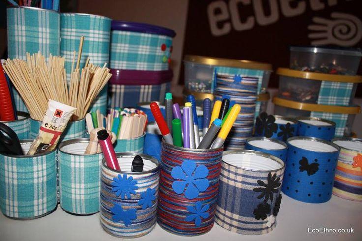 Pencil case #upcycling #workshopwithchildren