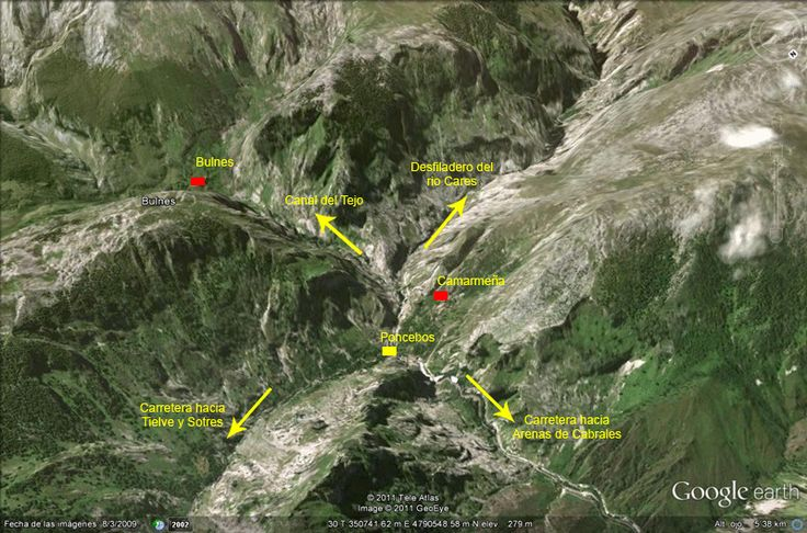 Ruta: Poncebos a Bulnes, Picos de Europa
