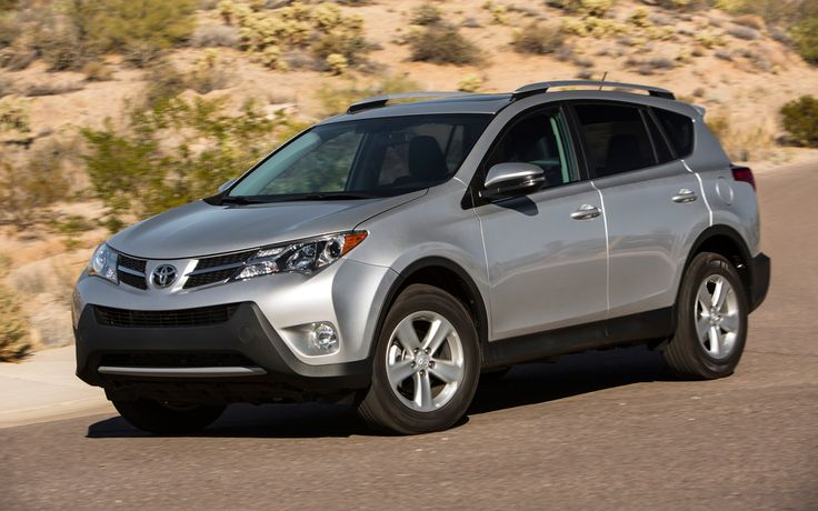 Toyota RAV 4 Front View - 10 Best SUVs 2014