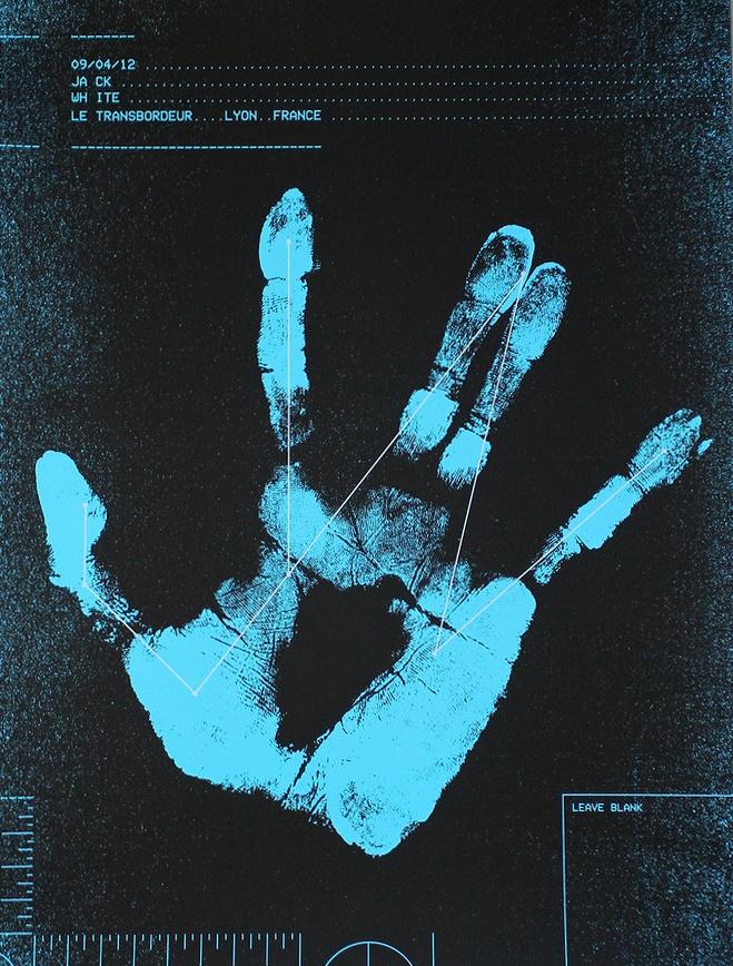 Lyon, France tour poster 4.9.12