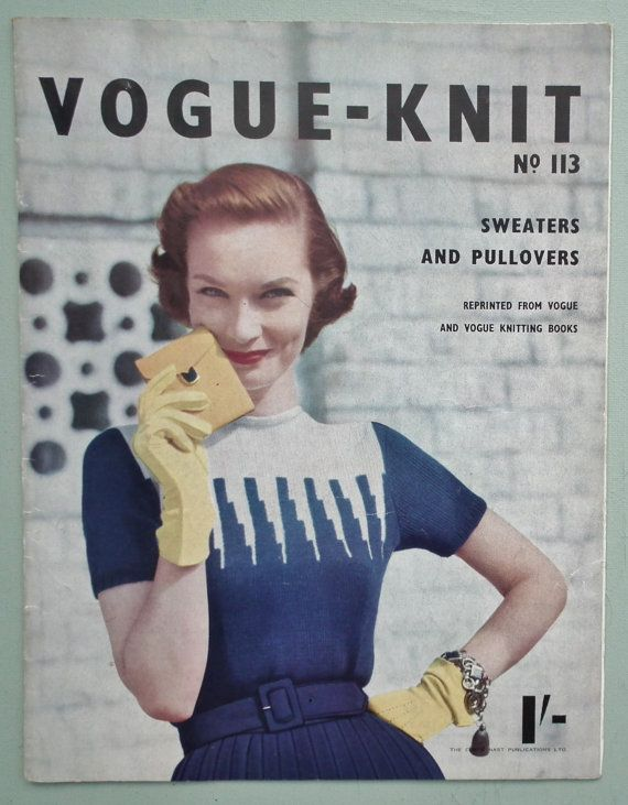Hey, I found this really awesome Etsy listing at https://www.etsy.com/uk/listing/176147818/vogue-knit-no-113-sweaters-and-pullovers