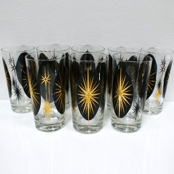 sweet vintage highball glasses