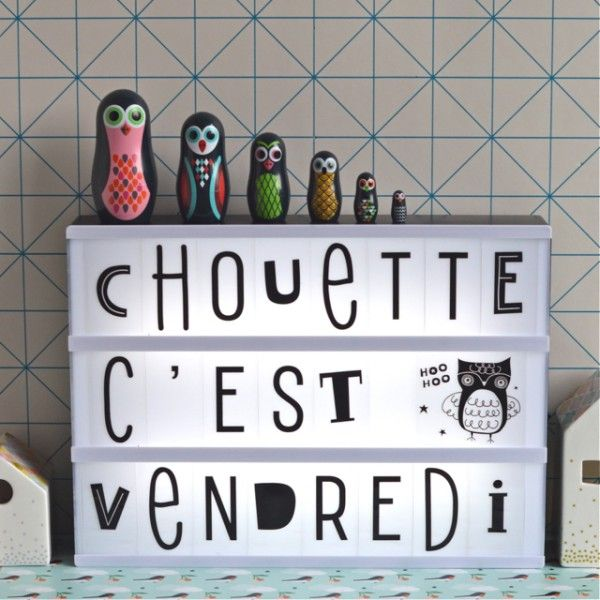 les 25 meilleures id es concernant caisson lumineux sur pinterest citations lightbox lettres. Black Bedroom Furniture Sets. Home Design Ideas