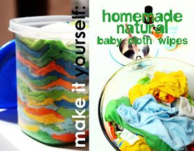 just-making-noise: Homemade Natural Baby Cloth Wipes