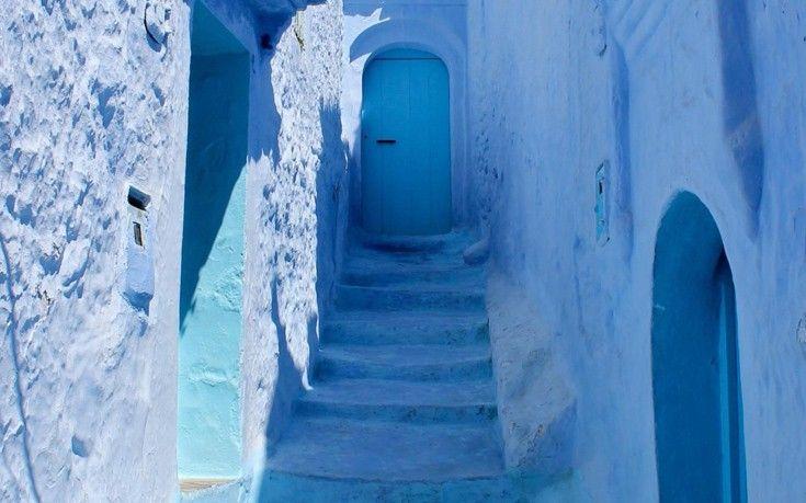 Το χωριό στο Μαρόκο που είναι βουτηγμένο στο μπλε