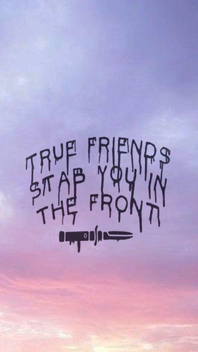 Bring me the horizon// true friends