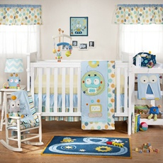 Lolli Living™ by Living Textiles Baby Baby Bot Crib Bedding Collection - Bed Bath & Beyond