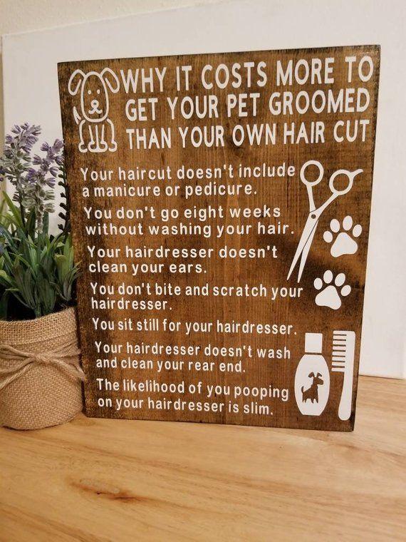 Dog Grooming Gift Pet Groomer Dog Decor Gift For Dog Groomer