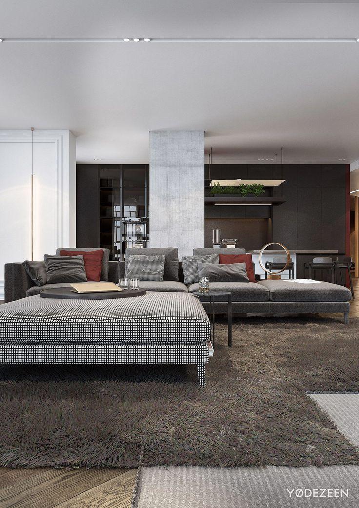 Das Zeitlose Charisma Vom Modernen Apartment Design. 14 best ...