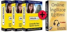 1. Kur Grapho-English + 2.Kur Speak English Better + 3.Kur Advanced English Eğitim Setleri http://www.limasollunaci.com/ingilizce/ingilizce-egitim-seti/