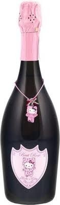Hello Kitty wine-probably tastes bad but super cute :)