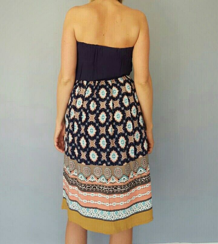 3/4 cotton Kaboo dress.  easy to wear... #kaboofashion