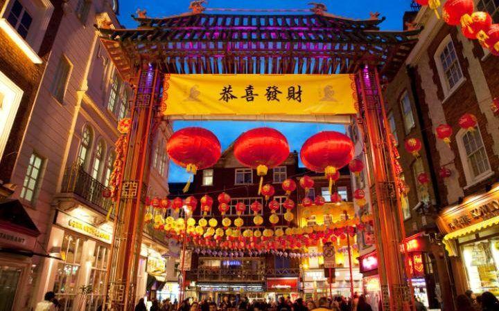 Chinese New Year on Gerrard Street